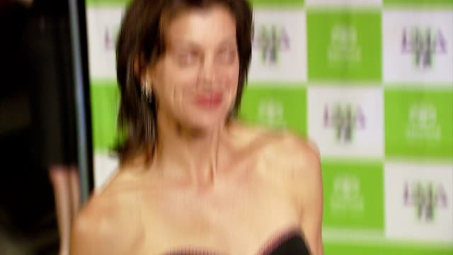 wendie malick at the 16th annual environmental media awards at ebell theater in los angeles, california on november 8, 2006. - environmental media awards stock videos & royalty-free footage