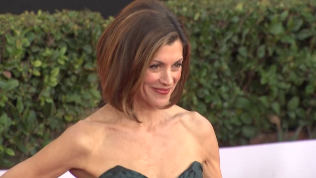 wendie malick at the 17th annual screen actors guild awards - arrivals part 2 at los angeles ca. - wendie malick stock videos & royalty-free footage