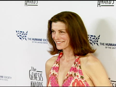 wendie malick at the 2008 genesis awards at the beverly hilton in beverly hills, california on march 30, 2008. - wendie malick stock videos & royalty-free footage