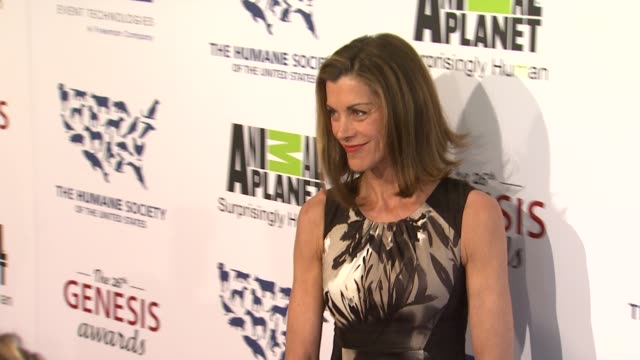 wendie malick at the 26th annual genesis awards presented by the humane society of the united states on 3/24/12 in los angeles, ca - wendie malick stock videos & royalty-free footage