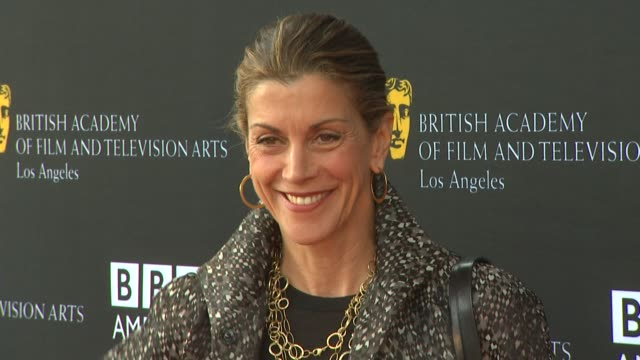 wendie malick at the 9th annual bafta los angeles tv tea party at beverly hills ca. - wendie malick stock videos & royalty-free footage