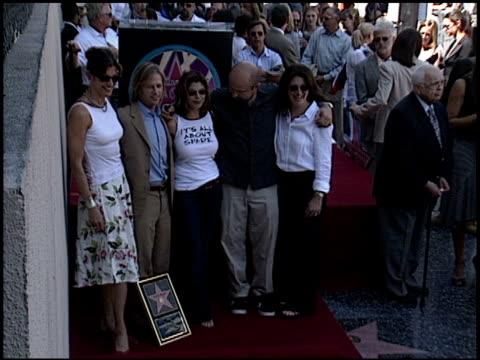 wendie malick at the dediction of david spade's walk of fame star at the hollywood walk of fame in hollywood, california on september 5, 2003. - wendie malick stock videos & royalty-free footage