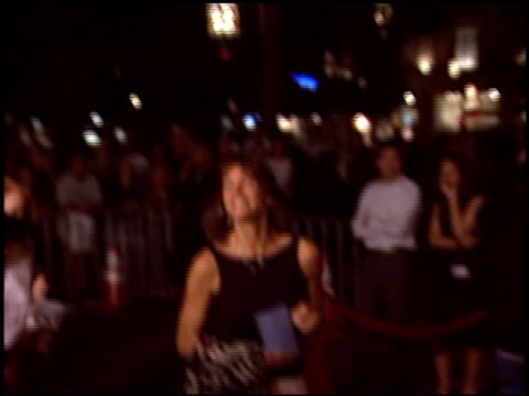wendie malick at the 'i heart huckabees' premiere at the grove in los angeles, california on september 22, 2004. - wendie malick stock videos & royalty-free footage