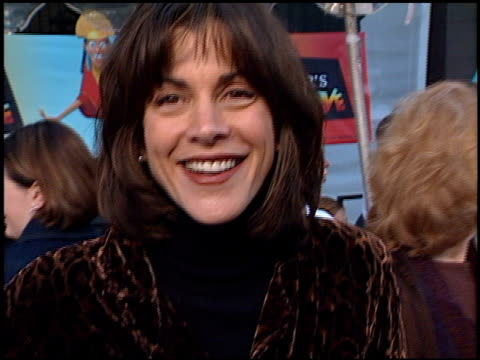 wendie malick at the premiere of 'the emperor's new groove' at the el capitan theatre in hollywood, california on december 10, 2000. - wendie malick stock videos & royalty-free footage