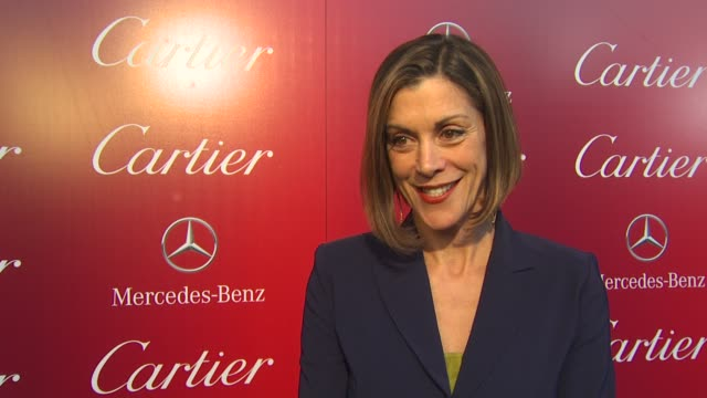 wendie malick on how it feels to be a part of one of the top 5 film festivals in the country, what she likes about coming to palm springs for an... - wendie malick stock videos & royalty-free footage