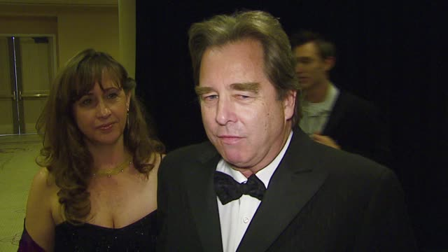 stockvideo's en b-roll-footage met wendy and beau bridges about presenting the episodic television award directing how his son is working behind the camera how he is coming out on an... - century plaza