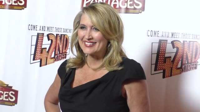Wendy Burch at the Opening Night Of 42nd Street at the Pantages Theatre in Hollywood in Celebrity Sightings in Los Angeles