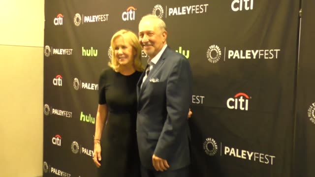 wendy walker and mark geragos at the paley center for media's paleyfest 2016 fall tv preview - abc at celebrity sightings in los angeles on september... - paley center for media los angeles stock videos & royalty-free footage