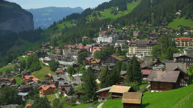 Wengen, Lauterbrunnen Valley, Bernese Alps, Switzerland, Europe