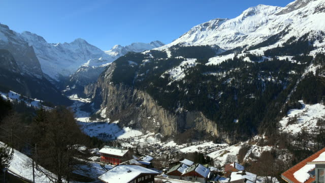 Wengen, Lauterbrunnen Valley, Bernese Oberland, Canton of Bern, Switzerland