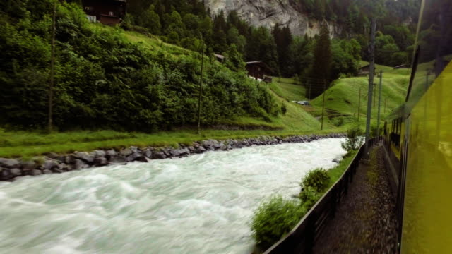 Wengen train station beautiful natural view