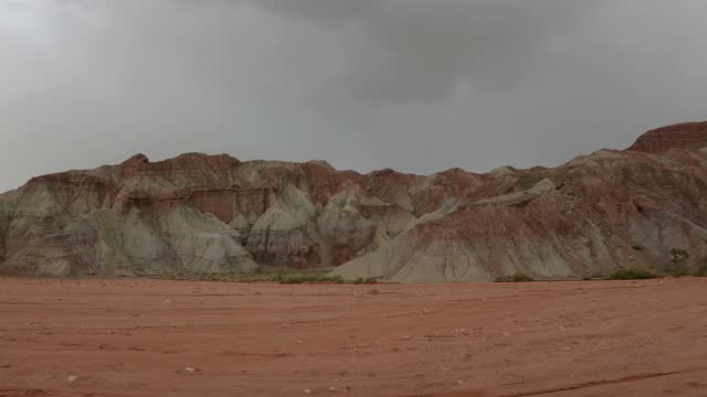 wensudaxiagu(wensu grand canyon) in xinjiang province - dome stock videos & royalty-free footage