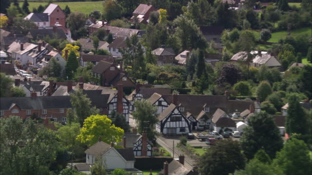 weobly village - herefordshire stock videos & royalty-free footage