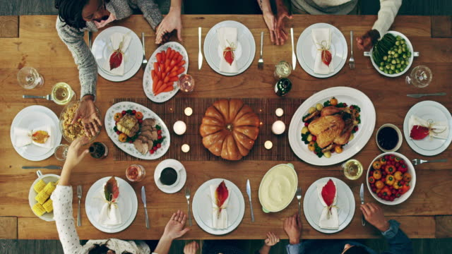 we're thankful for what we have - dinner party stock videos & royalty-free footage