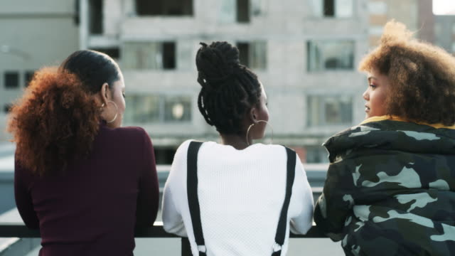we're the coolest squad in the city - braided hair stock videos & royalty-free footage
