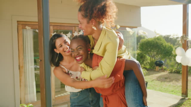 we're trouble when we're together - female friendship stock videos & royalty-free footage