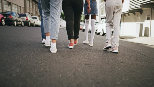 we're walking this journey together - footwear stock videos & royalty-free footage