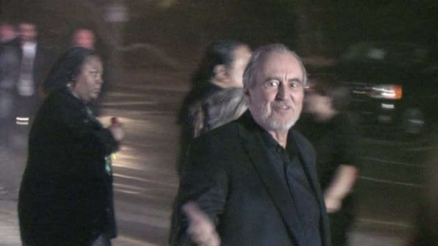 wes craven anthony hopkins at the 2010 scream awards at the celebrity sightings in los angeles at los angeles ca - anthony hopkins stock videos & royalty-free footage