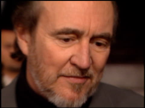 Wes Craven at the 'Scream 3' Premiere at Avco Cinema in Westwood California on February 3 2000