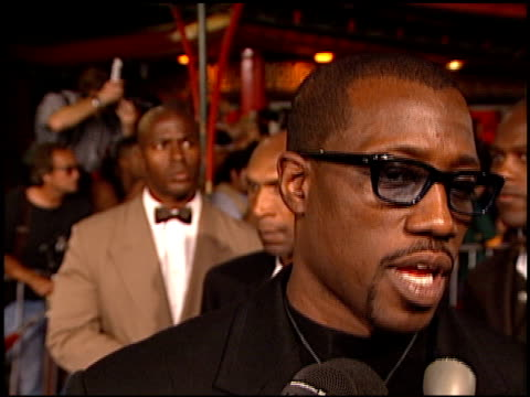Wesley Snipes at the 'Blade' Premiere at Grauman's Chinese Theatre in Hollywood California on August 20 1998