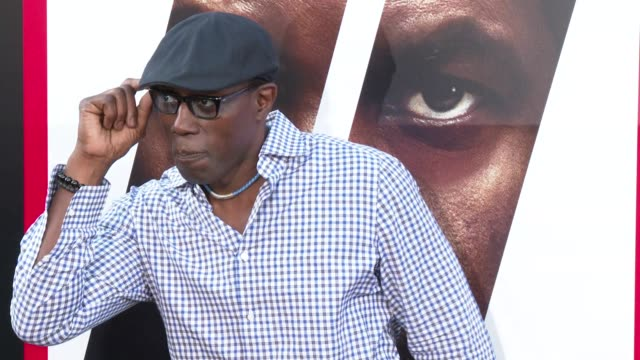 Wesley Snipes at the 'The Equalizer 2' Premiere at TCL Chinese Theatre on July 17 2018 in Hollywood California