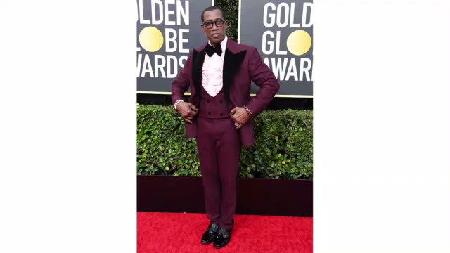 wesley snipes attends the 77th annual golden globe awards at the beverly hilton hotel on january 05 2020 in beverly hills california - the beverly hilton hotel stock-videos und b-roll-filmmaterial