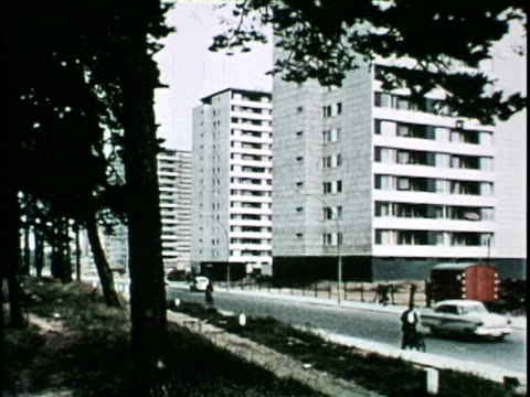 West Berlin, 1970 - the New Coexists with the Old