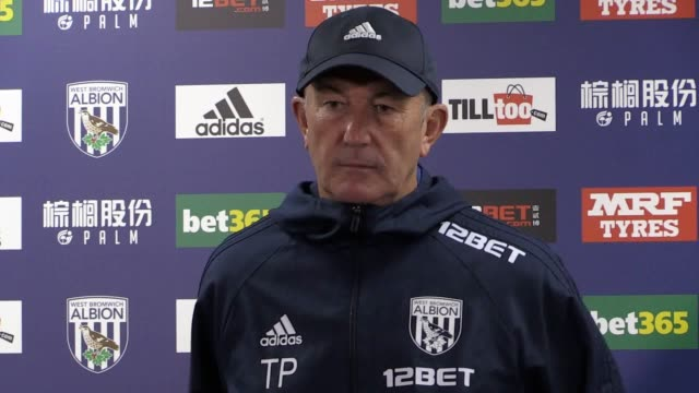 West Brom manager Tony Pulis speaks ahead of his side's Premier League clash at home to Watford on September 30