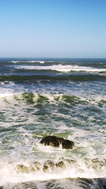west coast pacific ocean - pacific coast stock videos & royalty-free footage