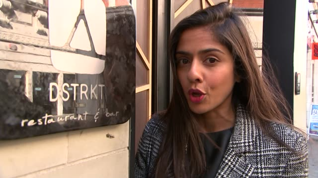 west end club accused of refusing women entry because of their colour england london piccadilly dstrkt ext reporter to camera setup shots and... - refusing stock videos & royalty-free footage
