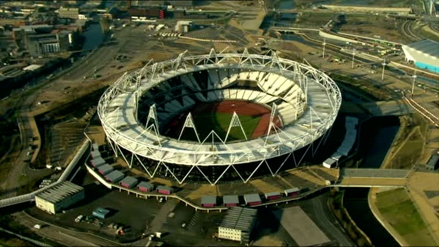 West Ham United granted 99 year lease on the Olympic Stadium AIR VIEW / AERIAL Olympic Stadium