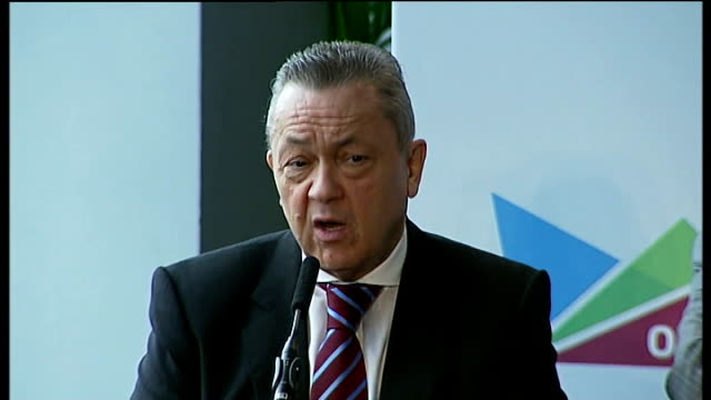 west ham united granted 99 year lease on the olympic stadium david sullivan press conference sot retractable seats mean fans close to the action/... - lease agreement stock videos & royalty-free footage