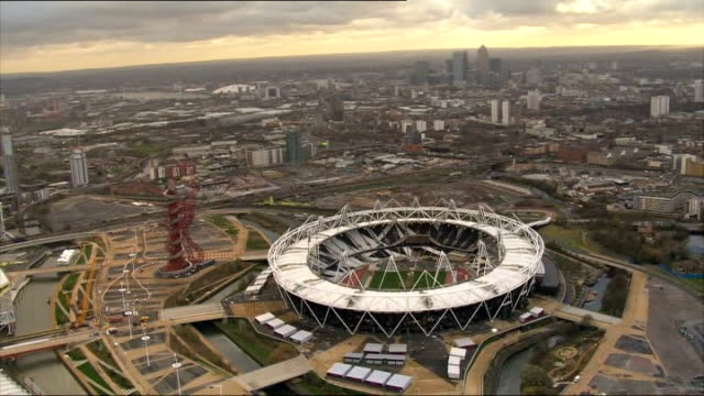 west ham united granted 99 year lease on the olympic stadium ext olympic stadium - lease agreement stock videos & royalty-free footage