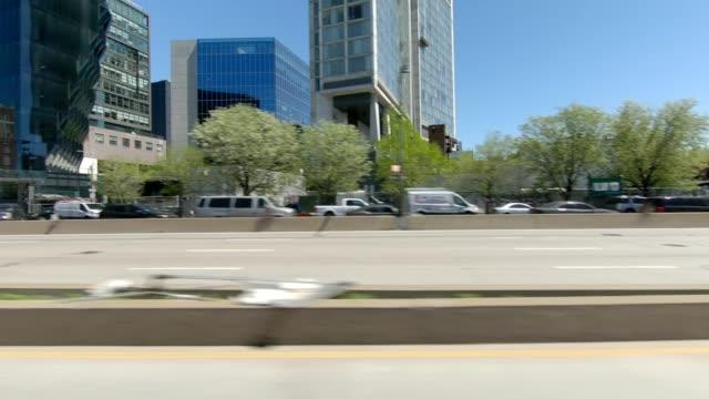西ハイウェイ xi 同期シリーズ左ビュードライビングスタジオプロセスプレート - side view点の映像素材/bロール
