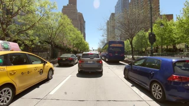 西ハイウェイ16世はシリーズ正面図駆動スタジオプロセスプレートを同期します。 - 車の視点点の映像素材/bロール