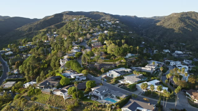 west los angeles brentwood aerial - west hollywood stock videos & royalty-free footage