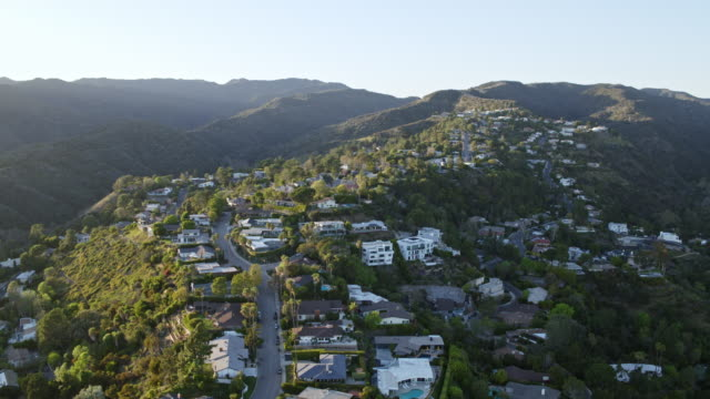 west los angeles brentwood aerial - brentwood los angeles stock videos & royalty-free footage