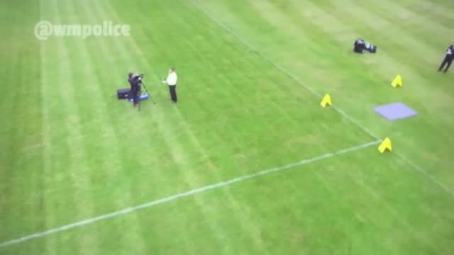 west midlands police give an insight into the use of drones in operations and how they plan to role them out forcewide to be used in different ways... - drone pilot stock videos and b-roll footage