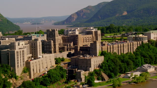 WIDE AERIAL West Point US Military Academy