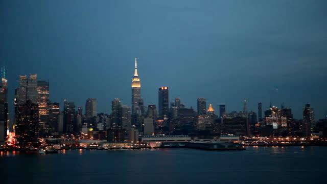 West side Manhattan Skyline Panorama