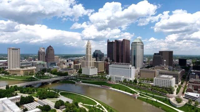 West side skyline of Columbus Ohio