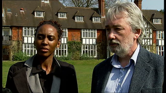 country mansion seen across grass jim davies interview sot - want to give children education normally only available at places like eton victoria... - only girls stock videos & royalty-free footage