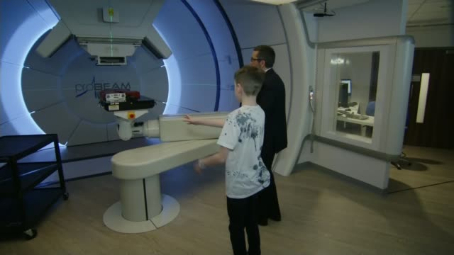 West Sussex teenager among UK's first for proton beam therapy for tumour ENGLAND Manchester Christie NHS Foundation Trust Christie Hospital INT...