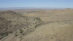 West Texas Landscape from above