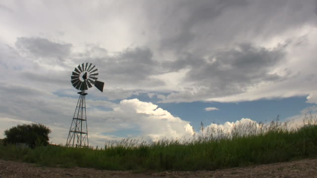 hd - west texas windmill - texas stock videos & royalty-free footage