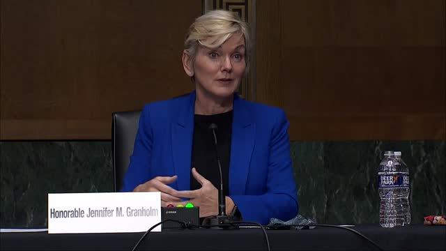 west virginia senator joe manchin and energy secretary nominee jennifer granholm discuss all the above energy independence in the united states at... - ease stock videos & royalty-free footage