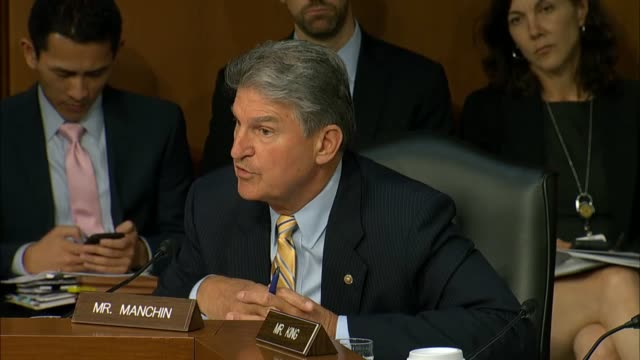 33 Joe Manchin Video Clips & Footage - Getty Images