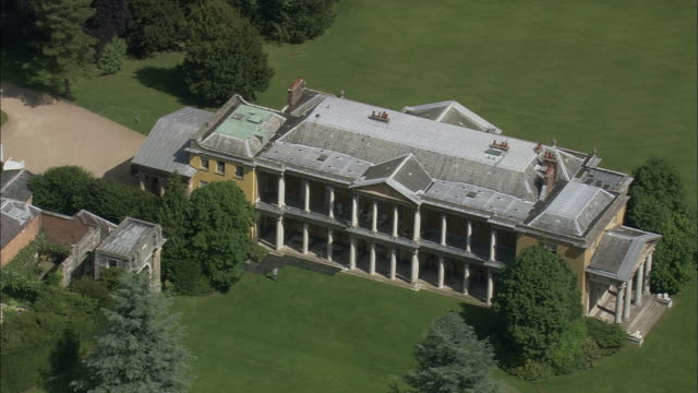 west wycombe house - stately home stock videos and b-roll footage
