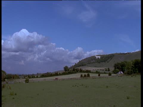westbury white horse, england - old westbury stock videos and b-roll footage
