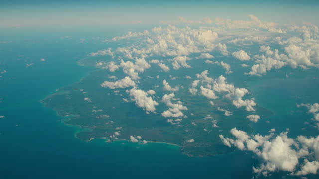 western jamaica aerial view - jamaica stock videos and b-roll footage